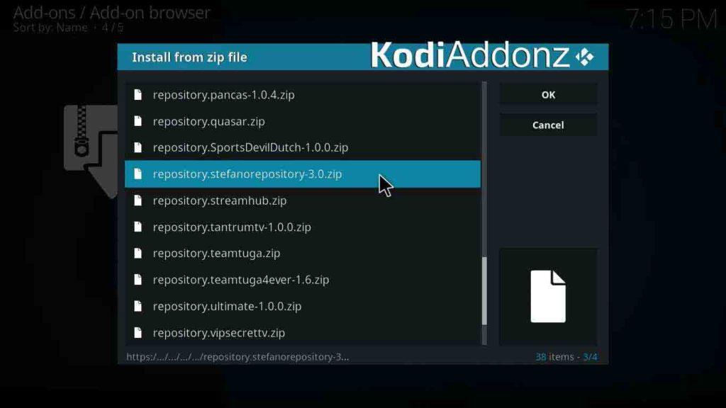 exodus ita kodi repository