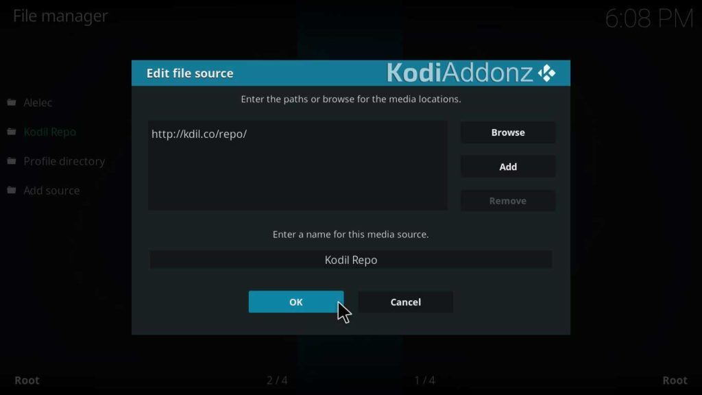 how to install placenta kodi on krypton version 17.6 or lower